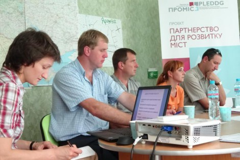 Challenges which businesses face were discussed in Yaremche