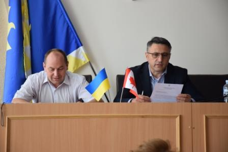 Working group meeting on SME Development Program in Ladyzhyn