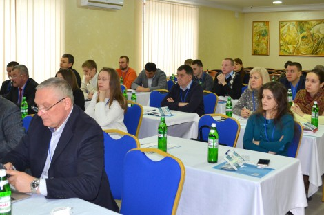 Learning how to turn interesting ideas into local development projects at a workshop in Vinnytsia