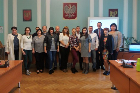 Participants of 2nd study tour to Poland discuss participatory budget in Poland