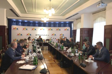 A study tour of representatives of PLEDDG partner cities to Poland
