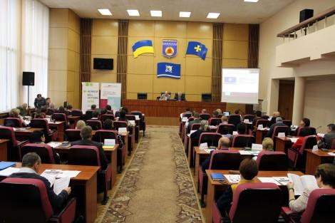 Presentation of 2028 Horishni Plavni Development Strategy