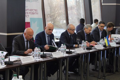 Small and Middle-Sized Business Development Program presented in Zaporizhia