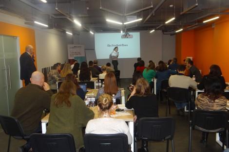 PLEDDG Project Organized Training for Journalists