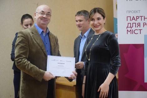 Учасники тренінгу з написання проектів для  ДФРР отримали сертифікати від Проекту ПРОМІС