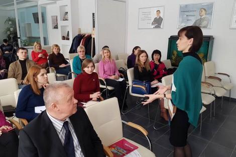 Тренінг з маркетингу території та брендування ОТГ відбувся в Запорізькому РВ АМУ