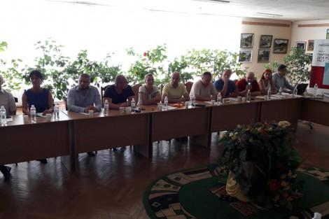 PLEDDG's call for grants announced at Khmilnyk City Council