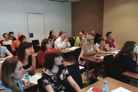 Zaporizhia Journalists Learn to Identify a Fake