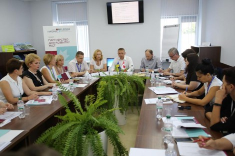 PLEDDG Project takes representatives from partner cites on an administrative services study tour to Kremenchuk