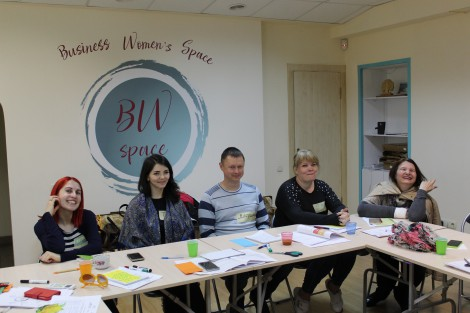 "Zaporizhia Women Entrepreneurs Complete ""Women Business School"" Training Program"