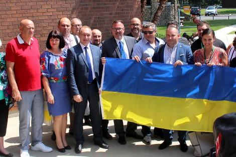 Chatham-Kent officials share amalgamation experience with visiting Ukrainian mayors