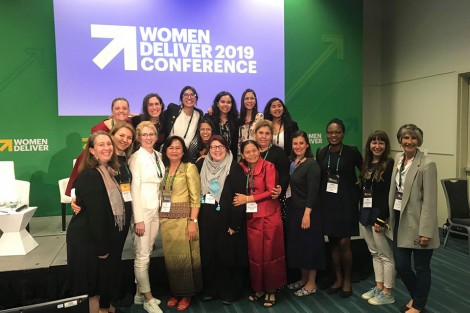 Invited by FCM, Anastasiia Popsui Takes Part in Women Deliver 2019 Conference