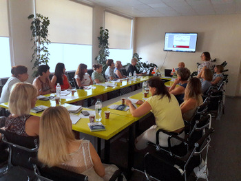 """Training on """"Gender-oriented Budgeting under Present-day Conditions"""" for Local Governance Officials Takes Place in Melitopol"""
