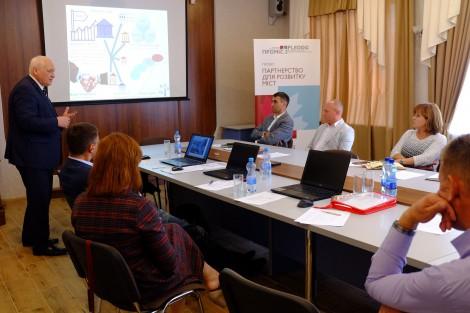 У Горішніх Плавнях відбулося засідання з розробки інвестиційного паспорта міста