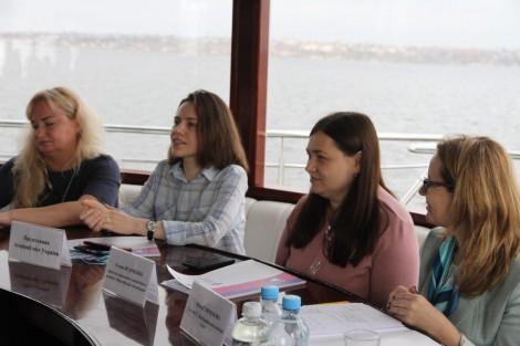 Цікавий евент на катері для випускниць Школи для жінок Миколаєва
