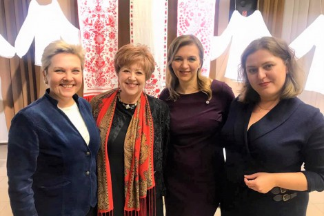 Women's Political Leadership at the Local Level Was Discussed in Poltava