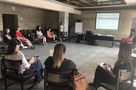 Women Learned Principles of Entrepreneurship on September 16-17 in Kremenchuk