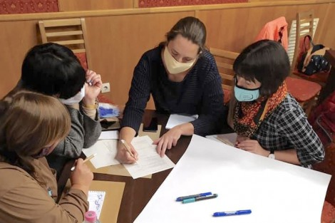 Women of Ivano-Frankivsk Region Took Part in a Training Program on Basics of Entrepreneurship