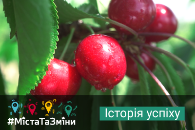 Melitopol Cherry brand goes international