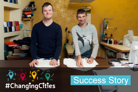 Kolomyia: City's First Social Inclusion Enterprise Staffed by People with Disabilities