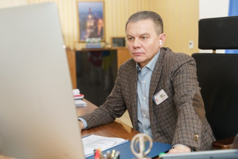 Сергій Моргунов під час Міжнародної конференції розповів, як Вінниця співпрацювала із ПРОМІС останні п'ять років